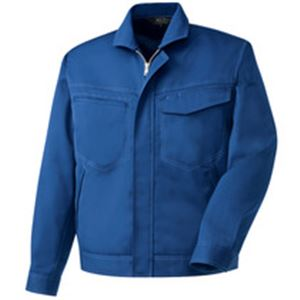 ◇長袖ブルゾン 制電ソフトツイル ブルー LLサイズ※他の商品と同梱不可