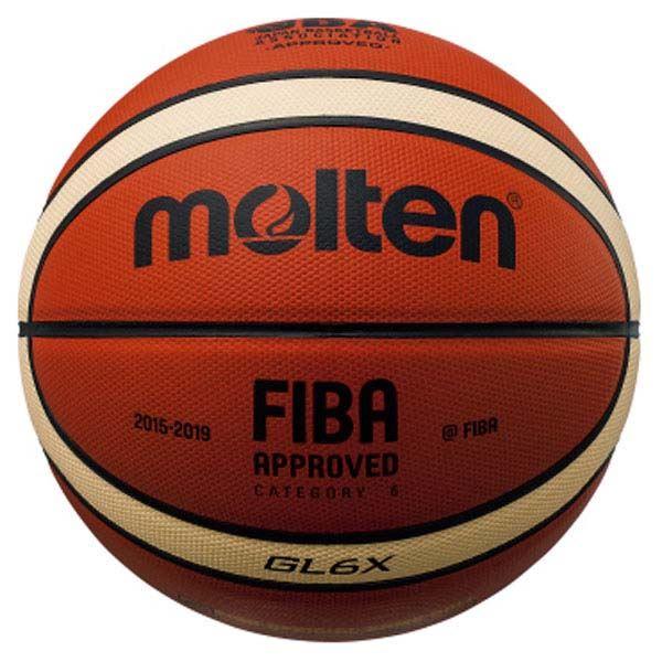 ◇モルテン(Molten) バスケットボール7号球 GL6X 国際公認球・JBA検定球 BGL6X※他の商品と同梱不可