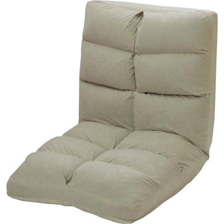低反発 リクライニング座椅子 ポルト アイボリー ★ 1人掛け 一人掛け 1人用 一人用 1P リクライニング 座椅子 座イス 座いす チェアー チェア poruto-iv 送料無料