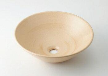 丸型手洗器//亜麻 【493-046-CR】【RCP】水道材料 カクダイ