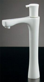 立水栓//トール、コットンホワイト 【716-867-13】【RCP】水道材料 カクダイ