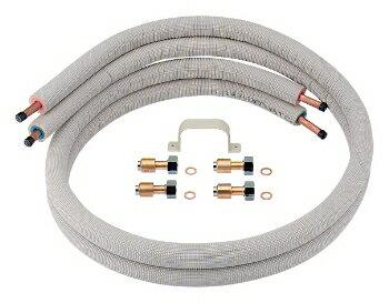 保温材つきペア銅管セット 【798-410-5】【RCP】水道材料 カクダイ