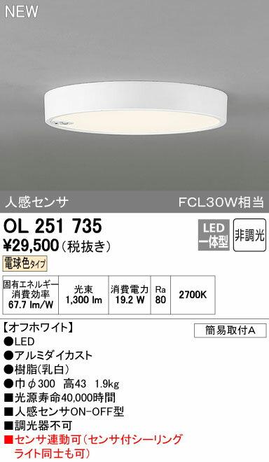 オーデリック フラットプレート 【OL 251 735】【OL251735】