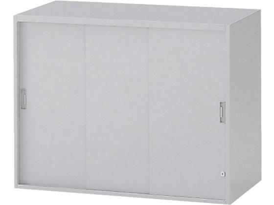 イトーキ/シンラインキャビネット 上置き 3枚引戸型 H692