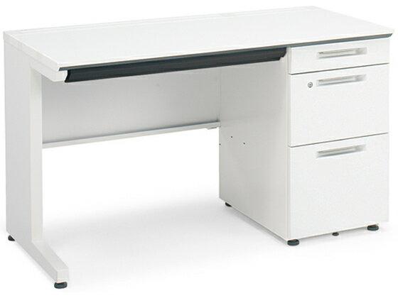 コクヨ/iS片袖デスク B4タイプ W1100×D700 ホワイト