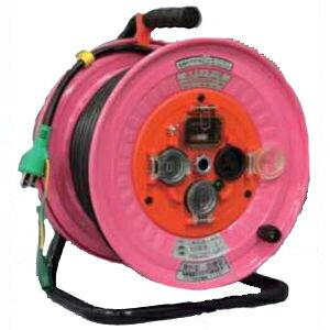 日動工業:防雨・防塵電工ドラム スケルトン電線 30m NW-EK33N