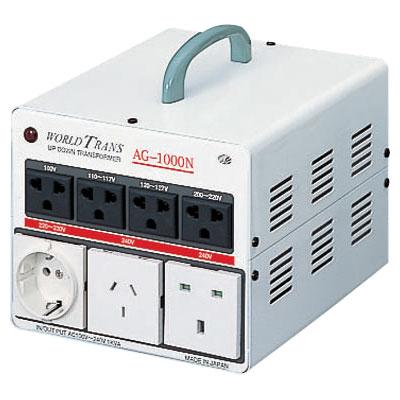 日動工業:ワールドトランス 単相・単巻・安全ブレーカ付 AG-1500N
