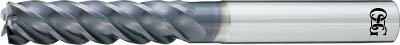 OSG  FXコート 5刃 チタン合金加工用不等リードエンドミル ロング UVX(1本)  7637233