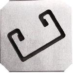 モクバ印 レースウエイカッターD用 固定刃(1枚) D912 7597347