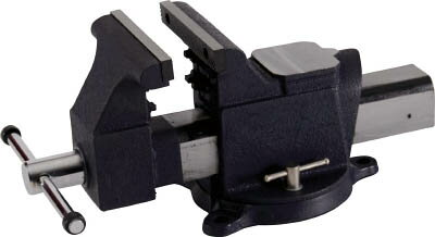 TRUSCO 回転台付アンビルバイス(クイックタイプ)200mm(1台) TVRQ200  7623135