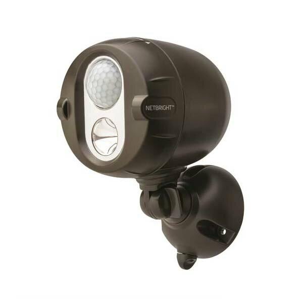 MR BEAMS:連動式LED ネットブライト 2個セット ブラウン MBN352