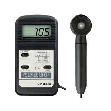 マザーツール:デジタル紫外線強度計 UV-340A