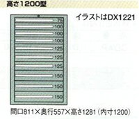 OS(大阪製罐):デラックスキャビネット 11段 DX1225
