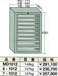 OS(大阪製罐):ミドルキャビネット 9段 MD1012