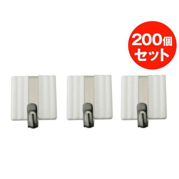 大一鋼業:スッポンフック カク 200個 ホワイト s11w200