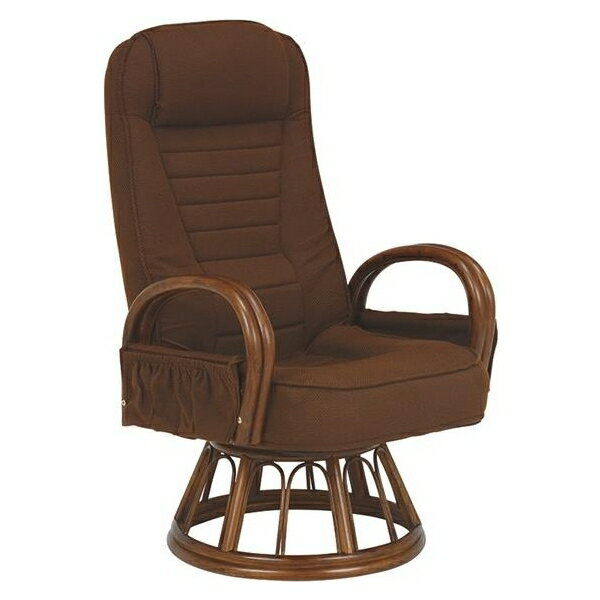 萩原:ギア付き回転座椅子 RZ-1257BR
