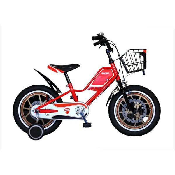 東部:ドゥカティ 幼児用自転車 16型 レッド TDK-163