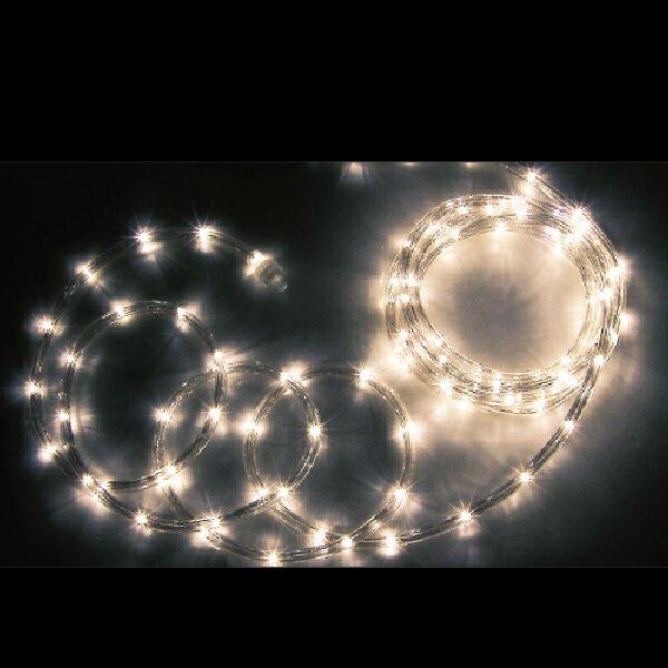 JEFCOM(ジェフコム):LEDソフトネオン(75mmピッチ)シリーズ 電球色×電球色 16m PR3L-E24-16LL