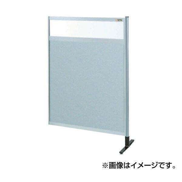 【代引不可】SAKAE(サカエ):パーティション 透明塩ビ(上) アルミ板(下)タイプ(連結) NAE-44NR