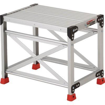 TRUSCO 作業用踏台 アルミ製・高強度タイプ 1段(1台) TSF165 2621622