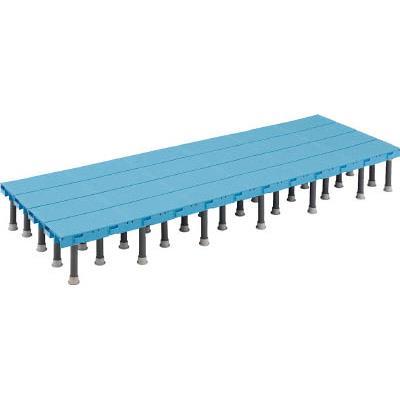 TRUSCO 樹脂ステップ高さ調節式600X900 H200-220(1組) DS6090H 4163630