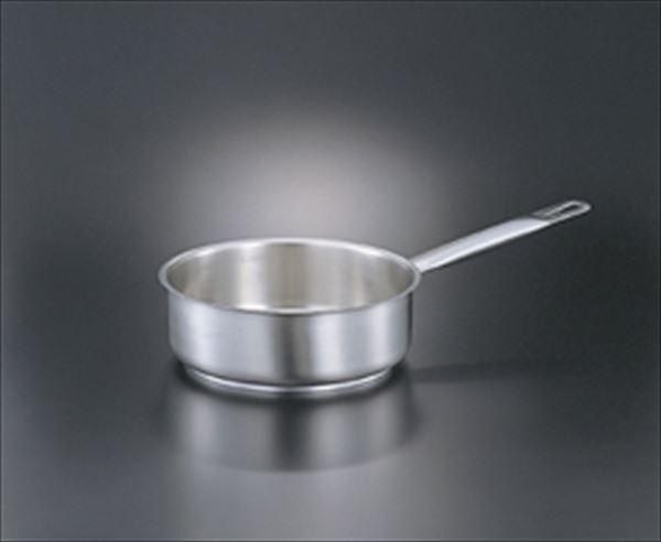 EBM:18-10 パデルノ浅型片手鍋(蓋無) 1-1008-28