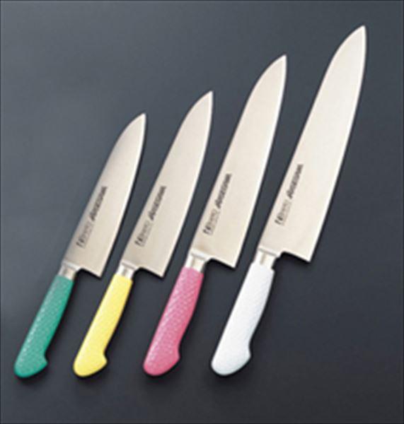 ハセガワ:抗菌カラー庖丁 牛刀 MGK-210(21cm)イエロー