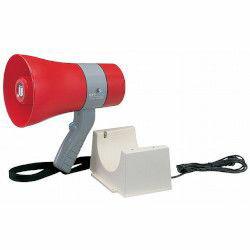 ユニペックス 6W防滴メガホン サイレン付 充電式 レッド TR-215CS 取り寄せ商品