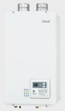 最大500円クーポン配布中★送料無料 ガス給湯器RUX-E1610FFU エコジョーズRUX-E FF給湯専用タイプFF方式・屋内壁掛型 16号リンナイ Rinnai