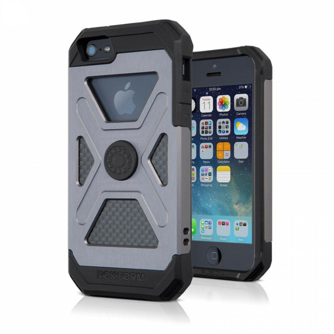ROKFORM(ロックフォーム): iPhone 5/5s FUZION5 アルミニウムケース ガンメタル