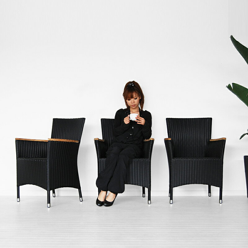 送料無料 シンセティックラタン【ノバ】ダイニングチェア アジアン家具