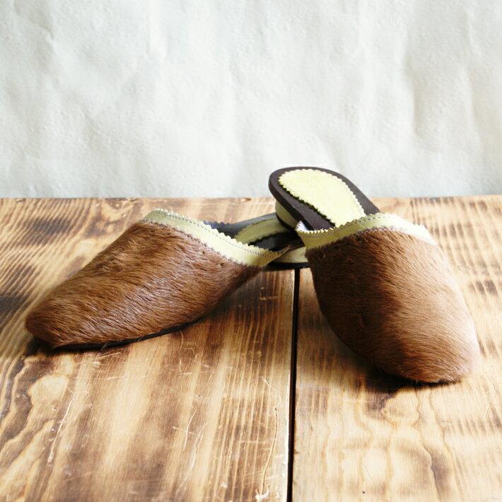 リアルファーサンダル ハラコ 本革 本皮 | レディース 女性 軽い 柔らかい 牛革 軽量 ゆったり 幅広 痛くない 歩きやすい 疲れない 履きやすい ぺたんこ ペタンコ シンプル オープントゥ 白 おしゃれ ナチュラル オシャレ