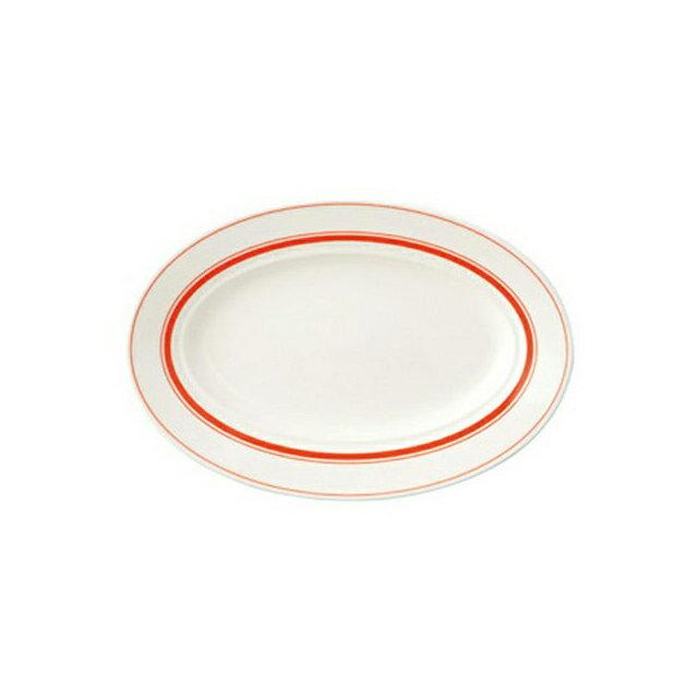 【送料無料】コーヨー カントリーサイド 26.5cmプラター ソーバーオレンジ 6枚セット (344448-6P) [洋食器][業務用 食器]