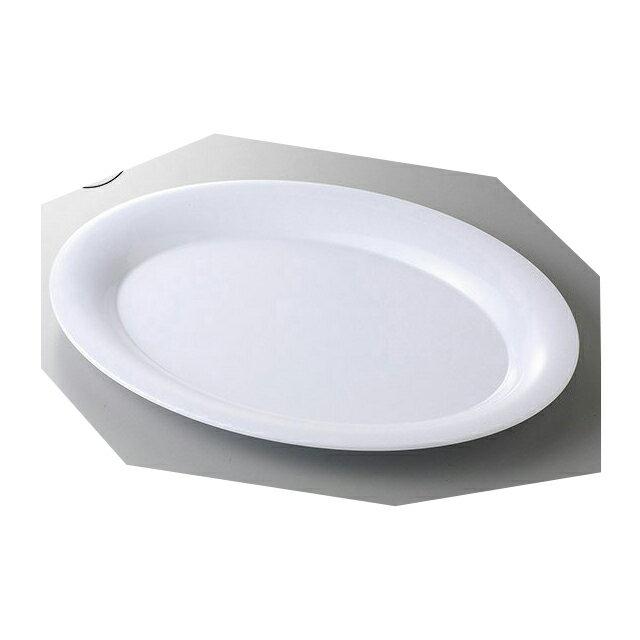 【送料無料】カーライル パレットデザイナー ワイドリムオーバルプラター 53.5cm (ホワイト) 4個セット (CR-3548) [CARLISLE 割れない食器 プレート お皿][業務用 食器]