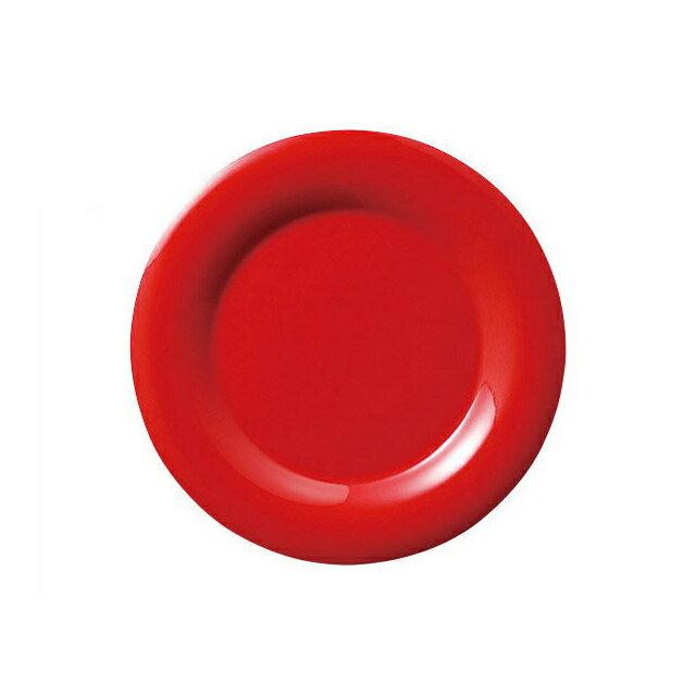 【送料無料】カーライル シーラスワイド サラダプレート 19cm (レッド) 48個セット (CR-3729) [CARLISLE 割れない食器 プレート お皿][業務用 食器]
