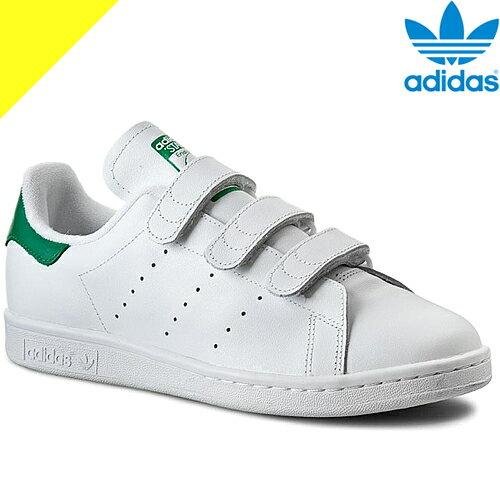 [11,988円→10,198円] adidas アディダス スニーカー スタンスミス ベルクロ メンズ レディース 白 ホワイト adidas Originals STAN SMITH CF S75187