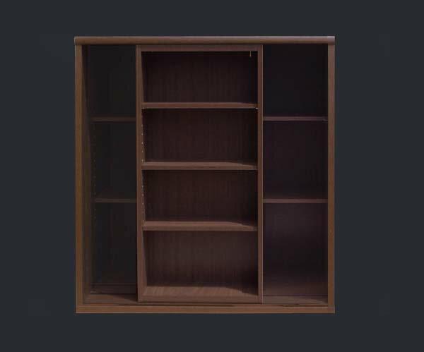 スライド書棚【90cm幅2重スライド】【smtb-F】