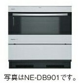 Panasonic 電気オーブンレンジ ビルトイン(IHヒーター下設置タイプ・200V 33L) NE-DB901W(シル�ー/ケコミ部:シル�ー)