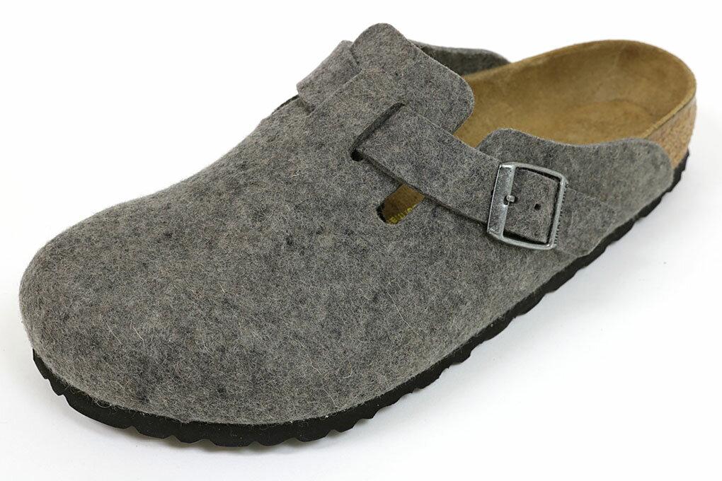 ビルケンシュトック ボストン ウールフェルト グレー (BIRKENSTOCK Boston Wool 0160361 Grey)