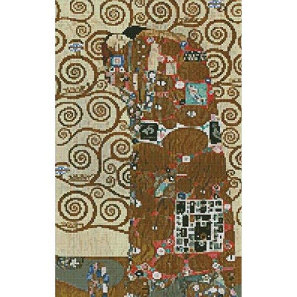 Artecy - Klimt(クリムト) - 抱擁 Fulfillment 14ct クロスステッチキット