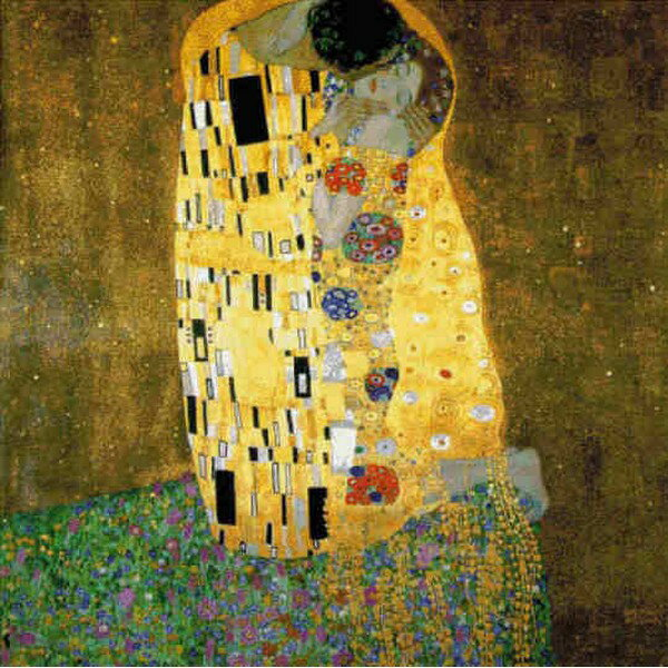 Cross Stitch Collectibles - Klimt(クリムト) - 接吻 The Kiss 18ct クロスステッチキット