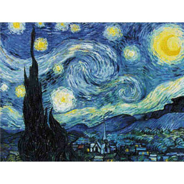 Cross Stitch Collectibles - Van Gogh(ゴッホ) - Starry Night  18ct クロスステッチキット