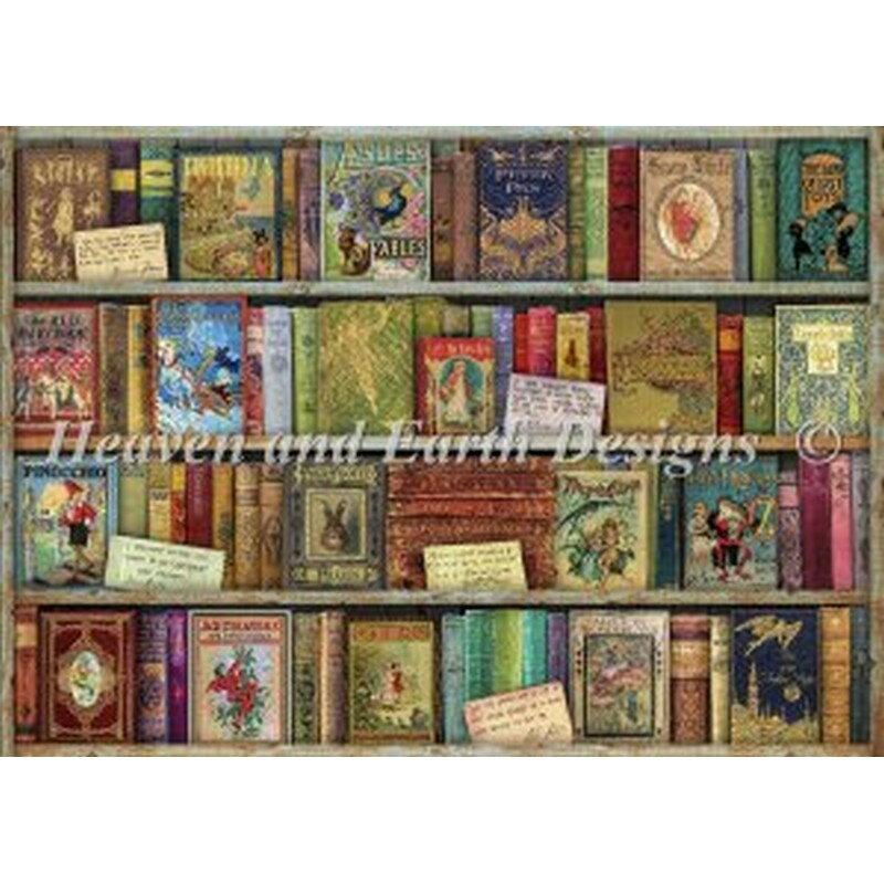 HAED(Heaven And Earth Designs)-Bountiful Bookshelfクロスステッチキット
