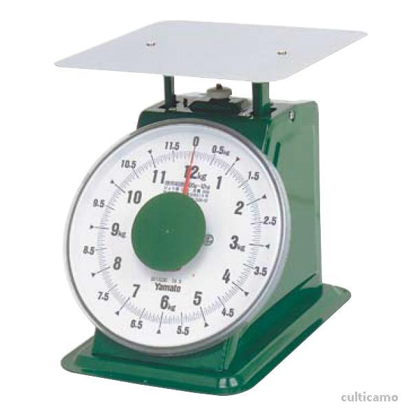 ヤマト 上皿自動はかり 「普及型」 平皿付 SDX-12 12kg BHK-66[関連:YAMATO 業務用 下ごしらえ用品 計量器 上皿式 針はかり ハカリ 秤]