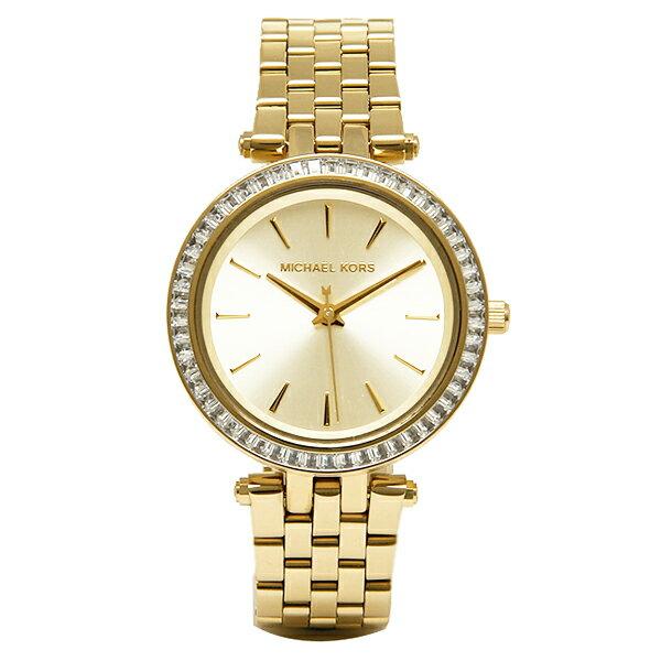 マイケルコース 時計 レディース MICHAEL KORS MK3365 MINI DARCI 腕時計 ウォッチ イエローゴールド