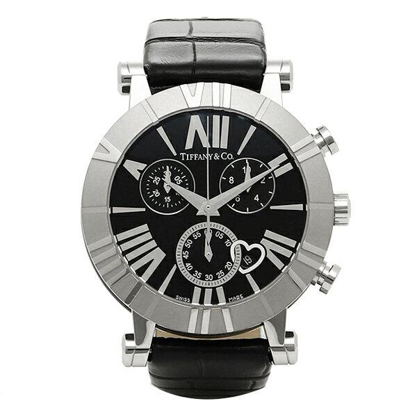 【期間限定ポイント10倍】ティファニー TIFFANY & Co 時計 腕時計 ティファニー 時計 レディース TIFFANY&Co Z13013211A10A71A ATLAS アトラス CHRONO 腕時計 ウォッチ ブラック