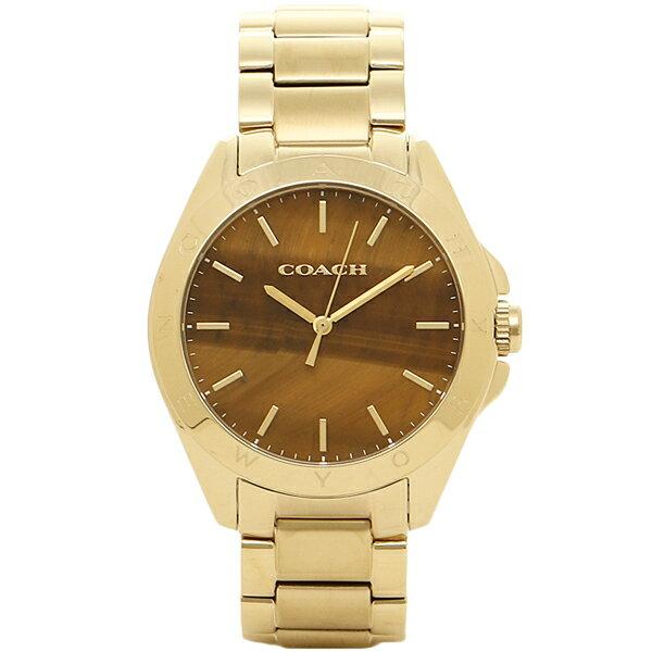 【期間限定ポイント10倍】コーチ 腕時計 COACH 14502053 ブラウン ゴールド