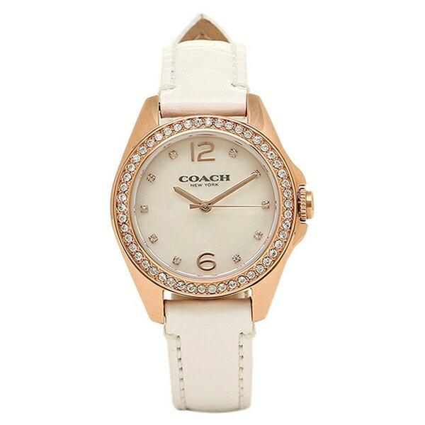 【期間限定ポイント10倍】コーチ 腕時計 COACH 14502102 ホワイト