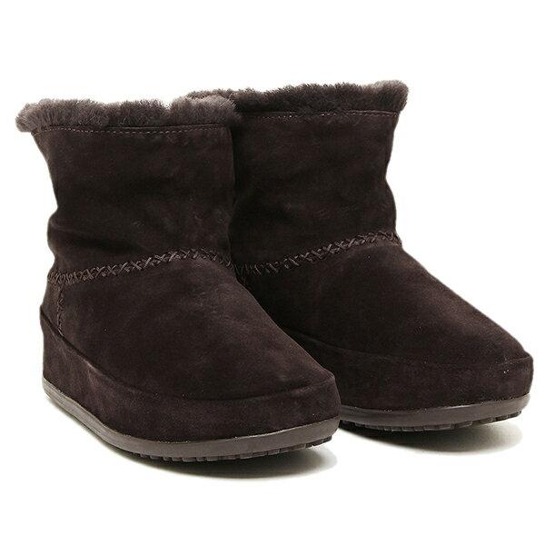 【期間限定ポイント10倍】フィットフロップ ブーツ fitflop 630 092 MUKLUK SHORTY ブーツ DARKBROWN