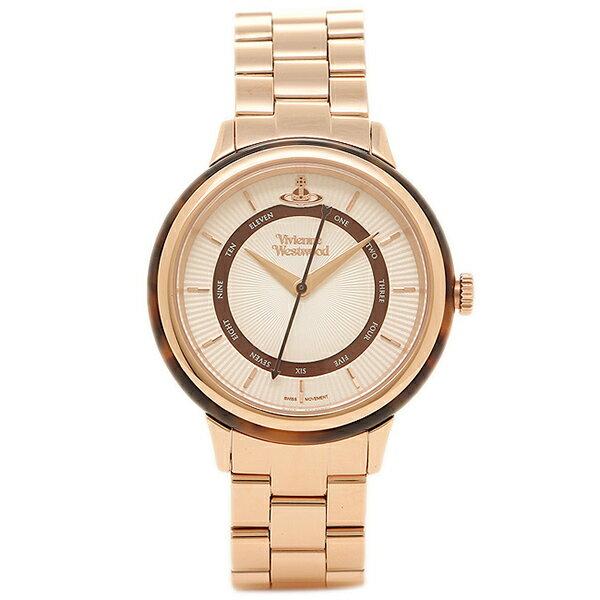 【期間限定ポイント10倍】ヴィヴィアン ウエストウッド レディース腕時計 VIVIENNE WESTWOOD VV158RSRS ローズゴールド